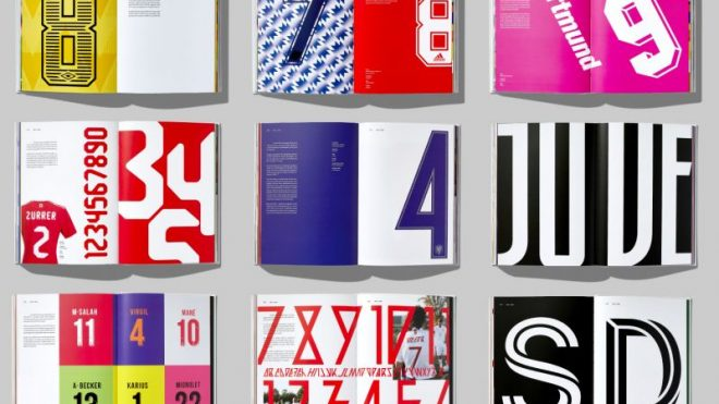 Rick Banks celebrates lettering in the beautiful game once again with Football Type 2