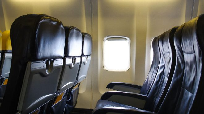 Engineer designs middle seat device that can improve social distancing on planes