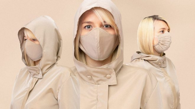 This 'travel jumpsuit' was designed for flying in a pandemic