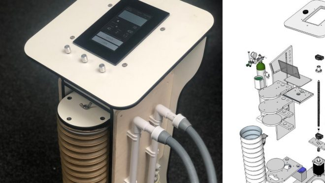 Design engineer reaches final of global challenge to invent new ventilator