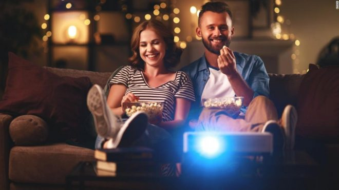 Home movie theater ideas: Projectors, popcorn machines and more - CNN