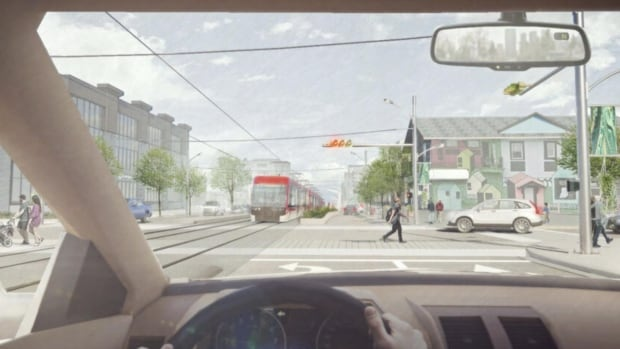 City unveils new vision for Green Line, from downtown and over the Bow | CBC News