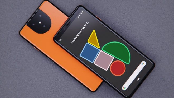 Google Pixel 5 design reveals a radical new camera