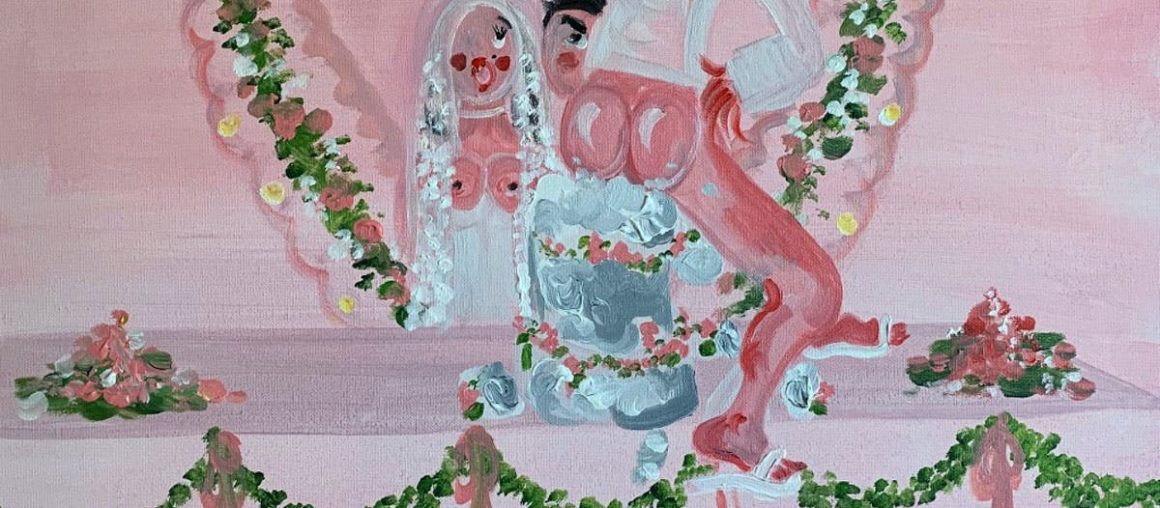 Step into the surreal world of Oh de Laval's saucy paintings